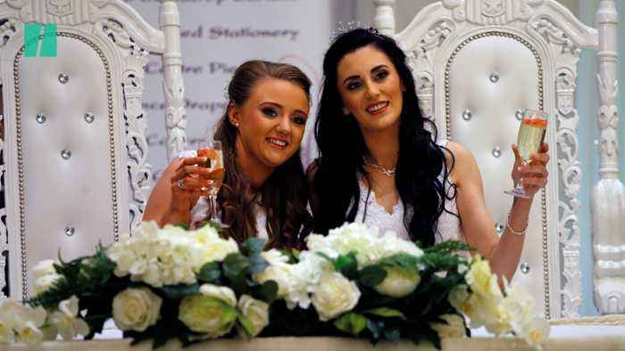 The First Same Sex Couple To Get Legally Married In Northern Ireland Celebrate