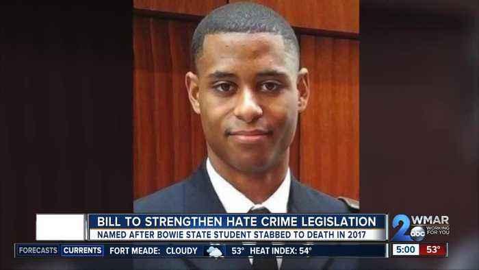 Family of slain Lt. Richard Collins III push for tougher hate crime laws