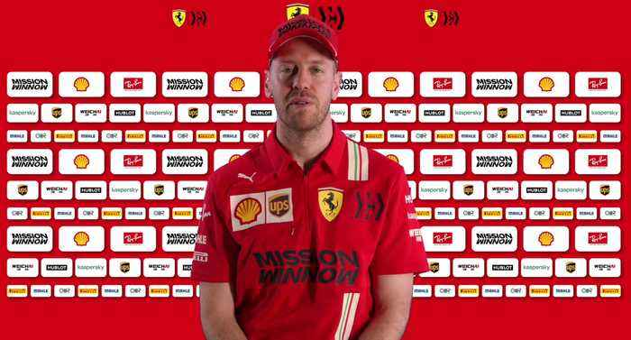 F1 Ferrari SF1000 - Interview with Sebastian Vettel