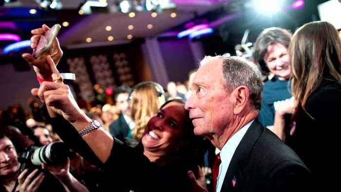 Trump calls Bloomberg a debate 'lightweight'