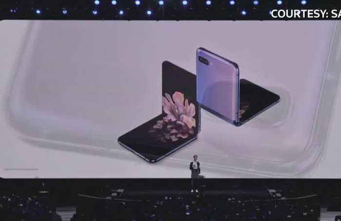 Samsung unveils its new foldable Galaxy Z phone