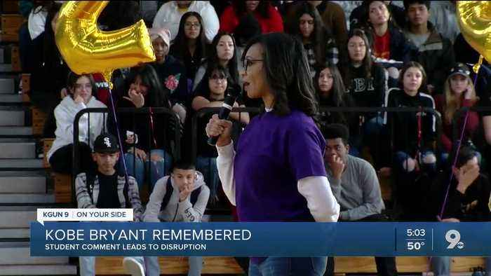 Tucson High students honor Kobe Bryant, other passengers who died for remembrance day