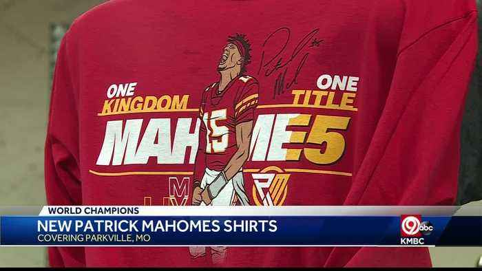 Limited edition Kansas City Chiefs quarterback Patrick Mahomes Super Bowl MVP shirts released Tuesday