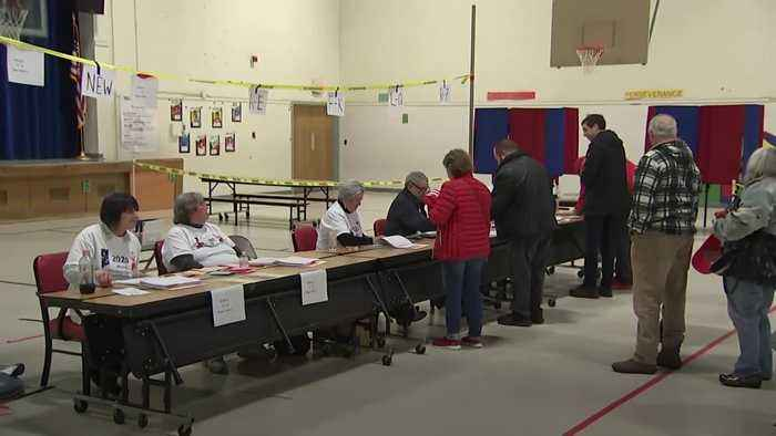 New Hampshire voters reveal their intentions after polls close