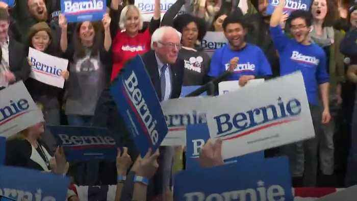 Bernie Sanders narrowly wins New Hampshire primary