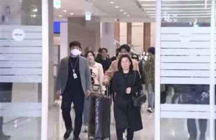 South Korea welcomes home 'Parasite' cast