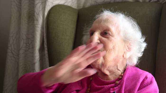 Jewish woman turned 101 and revealed she once lived next door to HITLER