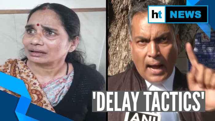 'This is delay tactics': Delhi gangrape victim's mother breaks down in court