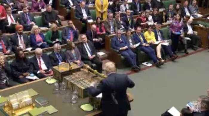 Boris Johnson Calls House Of Lords Pay Rise 'Odd'