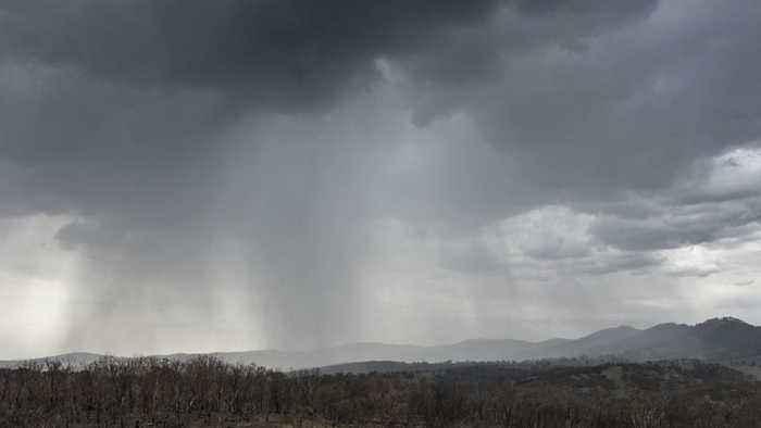 Fire-Weary Region of Australia Receiving Needed Heavy Rainfall