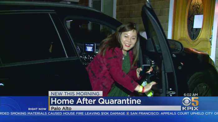 Palo Alto Woman, Daughter Return Home After 14-Day Coronavirus Quarantine