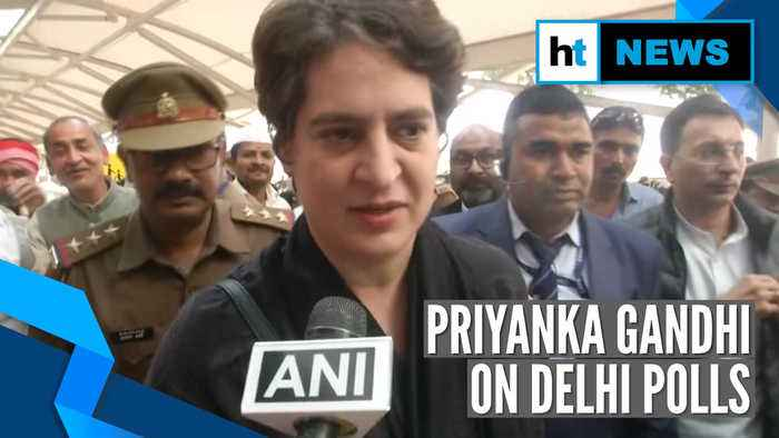 'Congress has to struggle and we will': Priyanka Gandhi after Delhi polls
