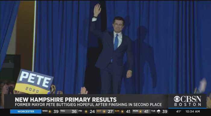 Pete Buttigieg Celebrates Strong Finish In New Hampshire Primary