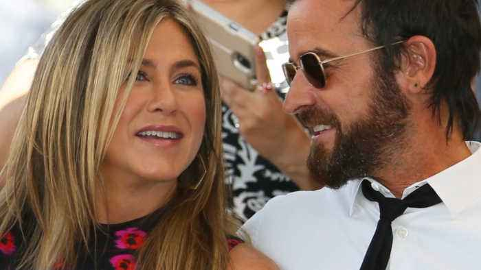 Justin Theroux leads birthday wishes for ex-wife Jennifer Aniston