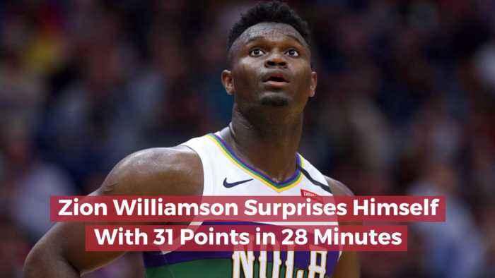 Zion Williamson Is Impressive