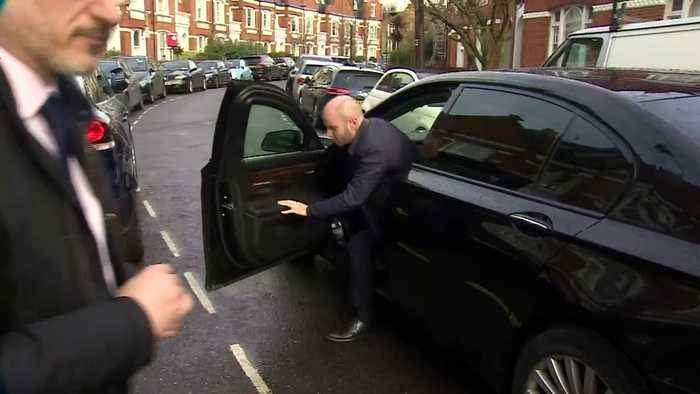 Sajid Javid returns home after resigning as chancellor