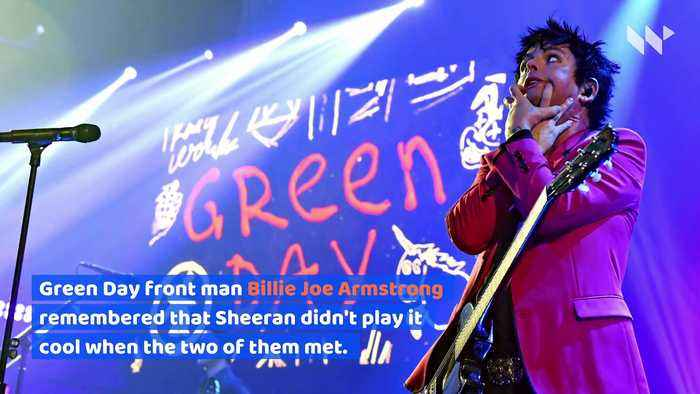 Ed Sheeran 'Fan-Girled' Over Green Day