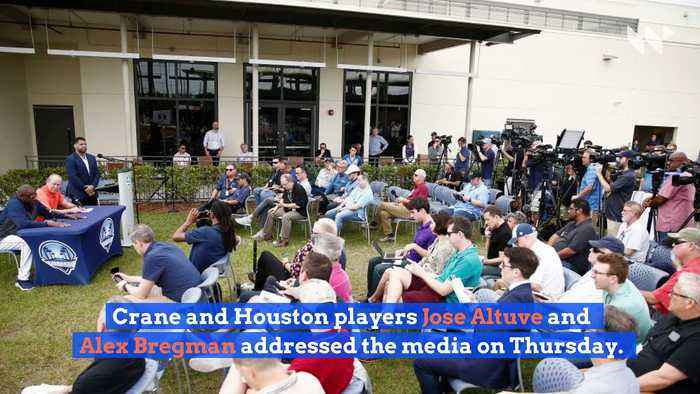 Astros Owner Jim Crane Apologizes but Says Sign-Stealing 'Didn't Impact the Game'