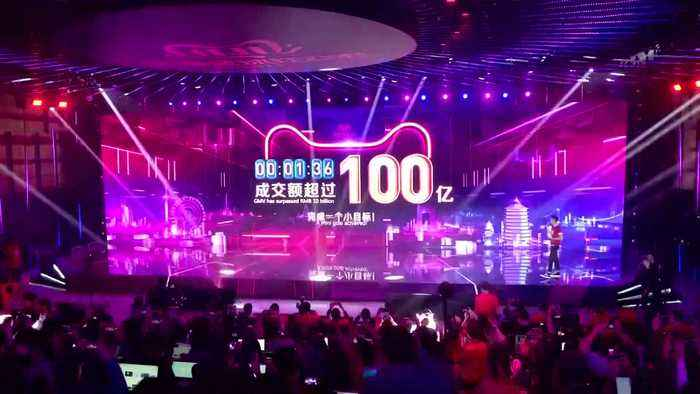Alibaba beats forecasts after record Singles' Day