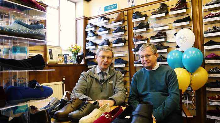 Shoe business founded in 1920 by twins now run by their twin grandsons