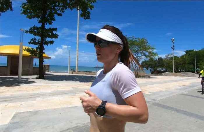 Madsen survives heat to win South American leg of World Marathon Challenge
