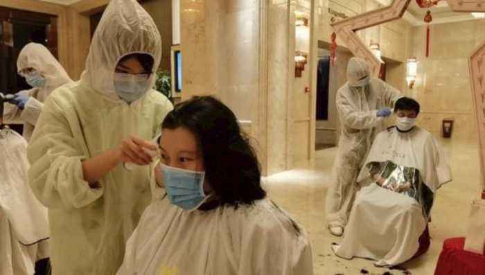 The Latest Preventative Measure for Doctors in Wuhan: Shaving Their Heads
