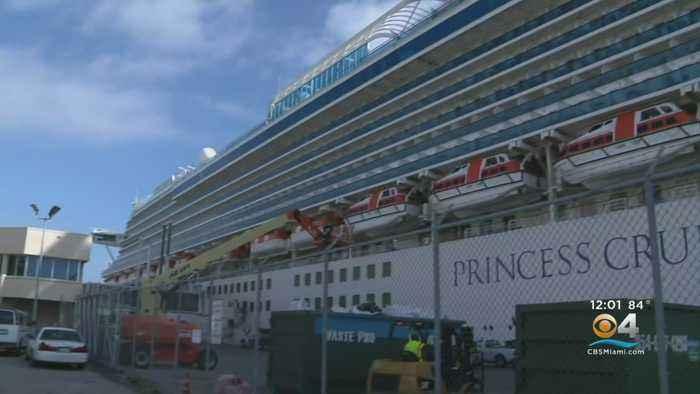 Caribbean Princess Returns To Port Everglades After Illness On Board