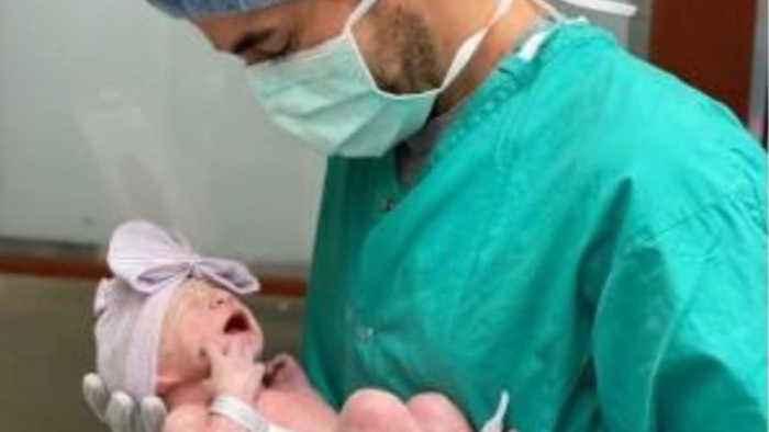 Enrique Iglesias confirms baby news
