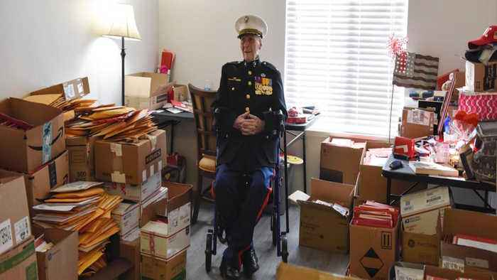 One Veteran Received 70,000 Valentine's Day Cards From All Over The Country
