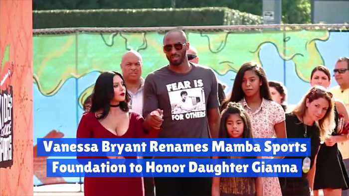 Vanessa Bryant Renames Mamba Sports Foundation to Honor Daughter Gianna