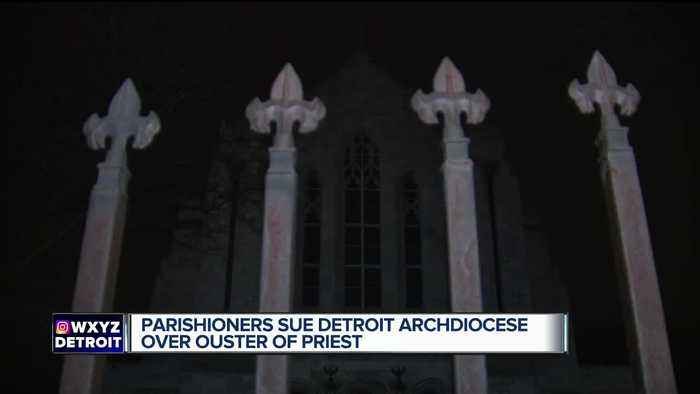 Parishioners sue Detroit Archdiocese over ouster of priest