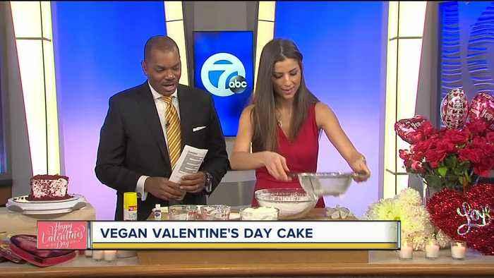 Vegan Valentine's Day Cake Recipe