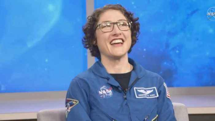 Record-breaking astronaut: 'Do what scares you'