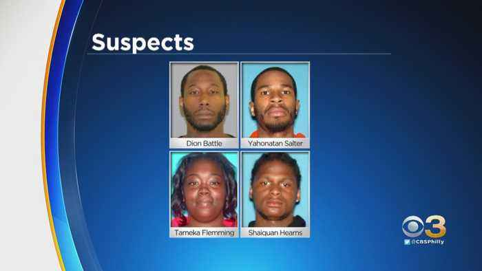 Four Suspects Identified In Connection With Shots Fired At Police Officer In Trenton