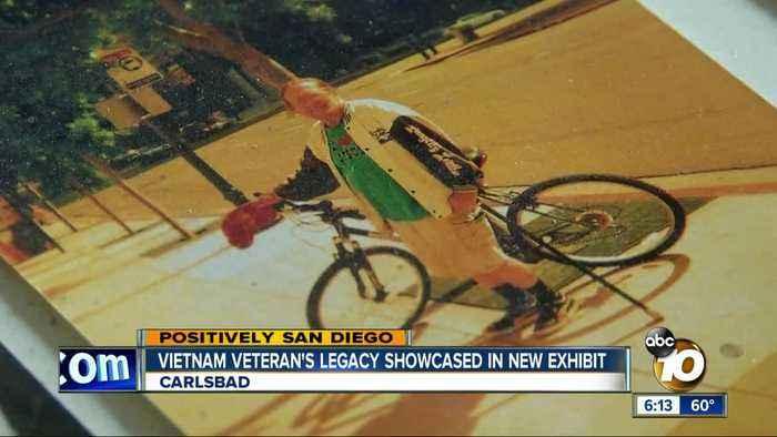 Vietnam veteran's legacy showcased in exhibit