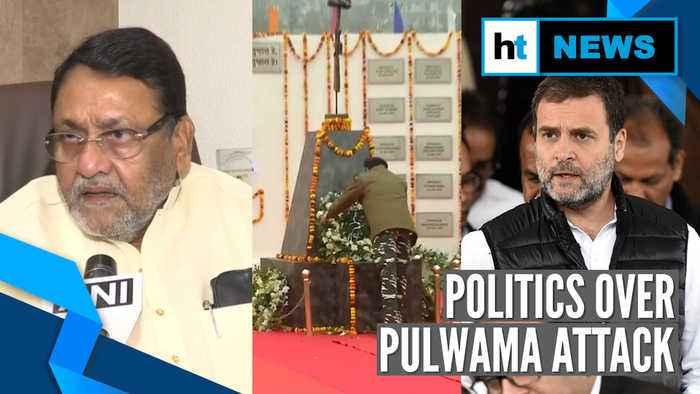Pulwama attack anniversary: Rahul raises three questions, NCP demands probe