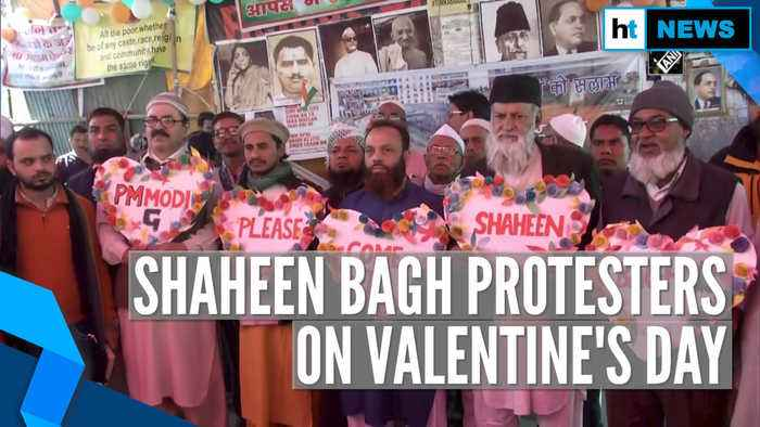 On Valentine's Day, here's what Shaheen Bagh protesters want