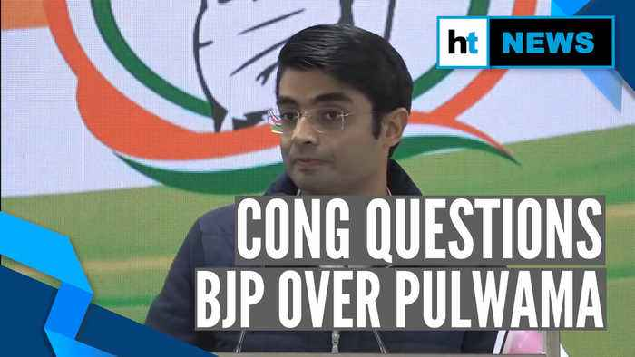Pulwama anniversary: Congress raises questions over 'Bharat ke Veer' fund