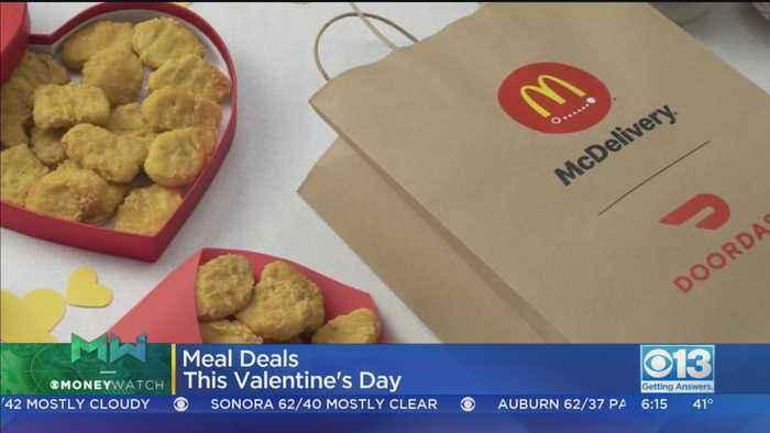 Moneywatch: Last-Minute Valentine's Day Deals