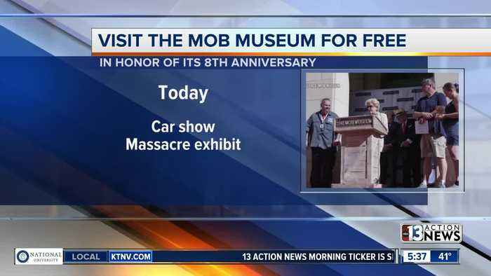 Visit Mob Museum for free