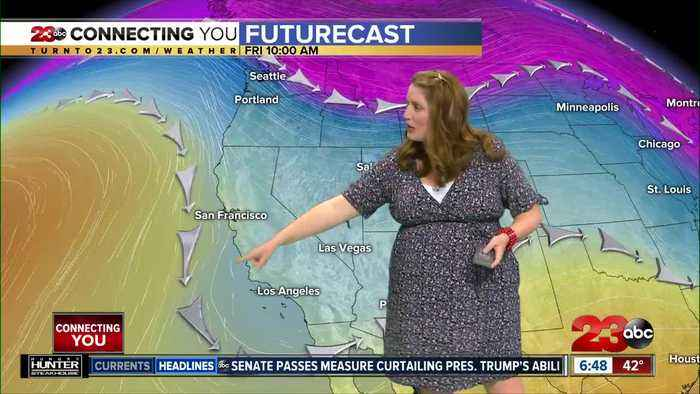 Friday morning forecast 2/14/2020