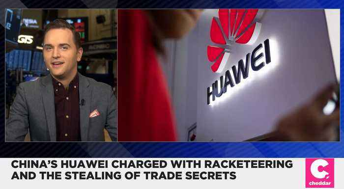 China's Huawei Charged With Racketeering and Stealing Trade Secrets