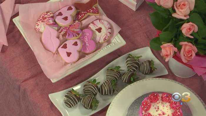 Milk And Sugar Bakery Stops By CBS3 Studios With Some Sweet Valentine's Day Ideas