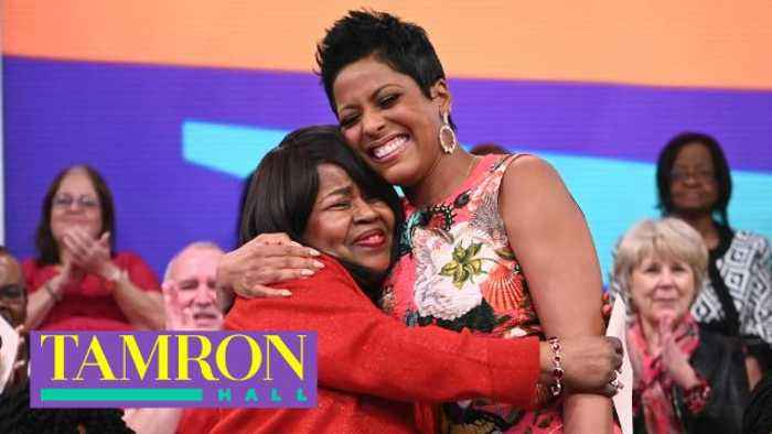 """""""Tamron Hall"""" Audience Member Wins The Ultimate Valentine's Day Getaway"""