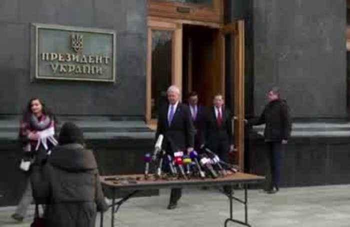 'Confident' Zelensky wants no involvement in U.S. politics -Senator Murphy