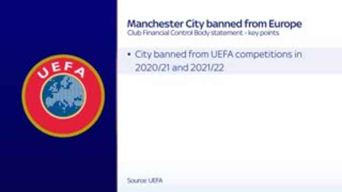 City banned from Europe: Key facts