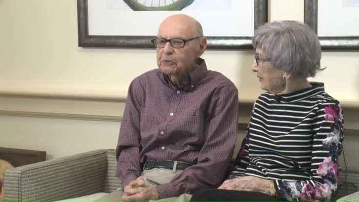 Iowa Couple Celebrates 80 Years of Marriage