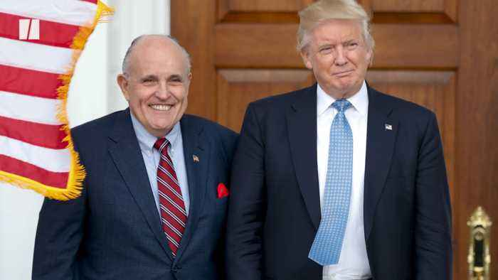 Trump Admits Sending Giuliani To Ukraine