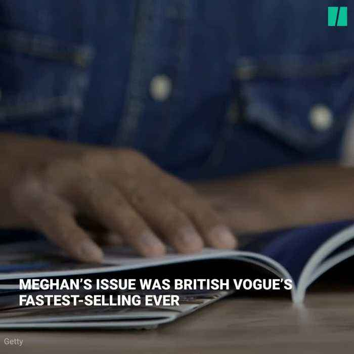 Vogue Goes Behind The Scenes With Meghan Markle