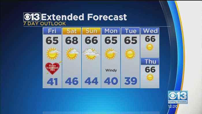 Afternoon Forecast - Feb. 14, 2020